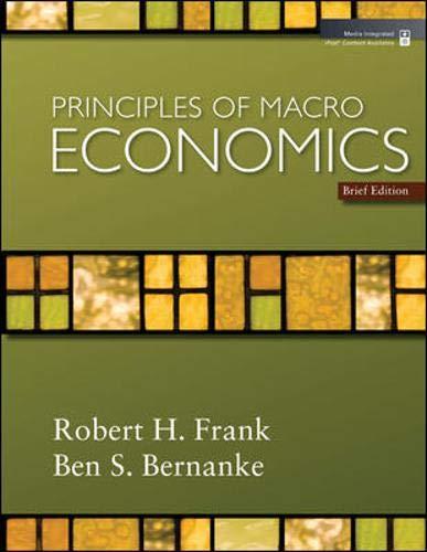 9780077354343: Principles of Macroeconomics, Brief Edition + Economy 2009 Updates