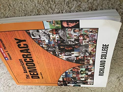9780077354947: The American Democracy, 9th Edition, Texas Edition, Richland College