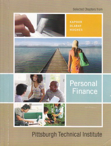 Personal Finance (Custom for PTI): Kapoor / Dlabat / Hughes