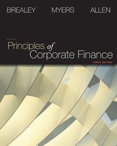 9780077356385: Principles of Corporate Finance