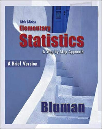 9780077359423: Elementary Statistics, A Brief Version