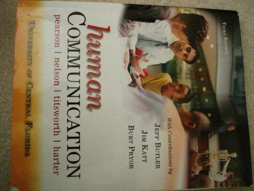 "Human Communication ""University of Central Florida"": Judy C. Pearson,"