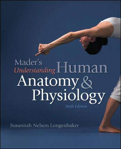 9780077361303: Mader's Understanding Human Anatomy and Physiology