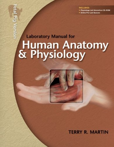 9780077361334: Laboratory Manual for Human A&P: Pig Version w/PhILS 3.0 CD