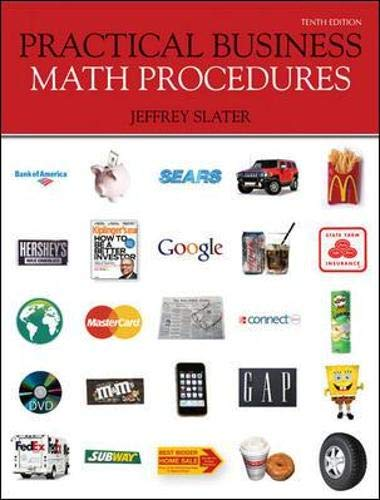 9780077362355: Practical Business Math Procedures with Business Math Handbook, Student DVD, WSJ Insert