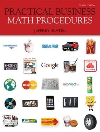 9780077362355: Practical Business Math Procedures with Business Math Handbook, Student DVD, WSJ Insert