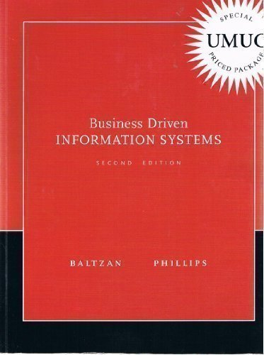 9780077364120: Business Driven Information Systems 2nd edition