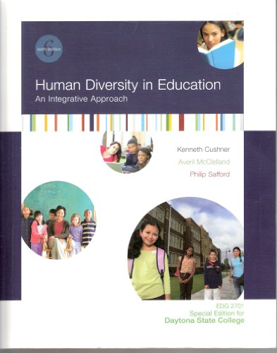 9780077364878: Human Diversity in Education An Integrative Approach: Special Edition for Daytona State College