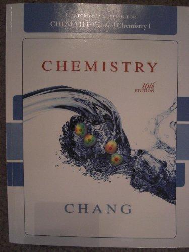 CHEMISTRY >CUSTOM<: Chang Raymond Chang