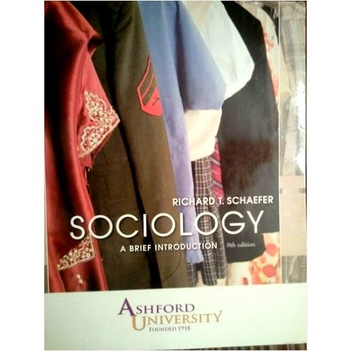 9780077365936: Sociology a Brief Introduction 8th Edition Ashford University