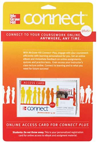 Connect Plus Access Card for Organizational Behavior: Colquitt, Jason, LePine,