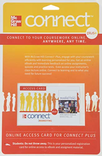 Connect Plus Access Card to accompany Marketing: Kerin, Roger, Hartley,