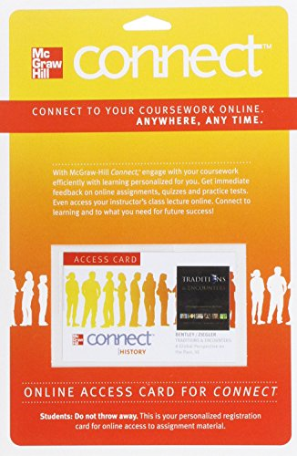 9780077368128: Connect History One Term Access Card for Traditions & Encounters (180 Days Access)
