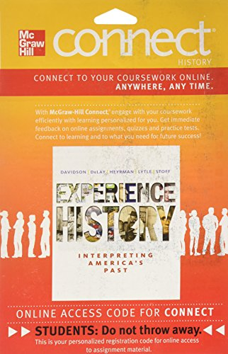 9780077368364: Connect History One Term Access Card for Experience History (180 Days Access)