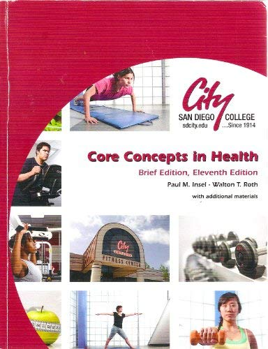 9780077368784: Core Concepts in Health (Brief Edition, Eleventh Edition with Additional Materials)