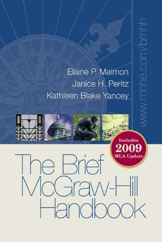 9780077369453: Brief McGraw-Hill Handbook 2009 MLA Update with Connect Composition Access Card