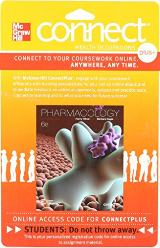 9780077369620: Connect (Allied Health) Plus 1-year Access Card for Pharmacology