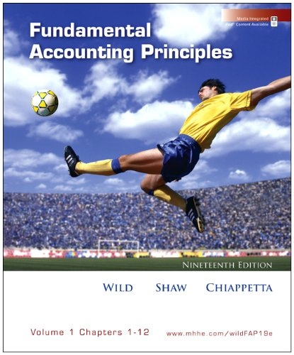 9780077370411: Loose-leaf Fundamental Accounting Principles Volume 1 Ch 1-12 with Best Buy Annual Report