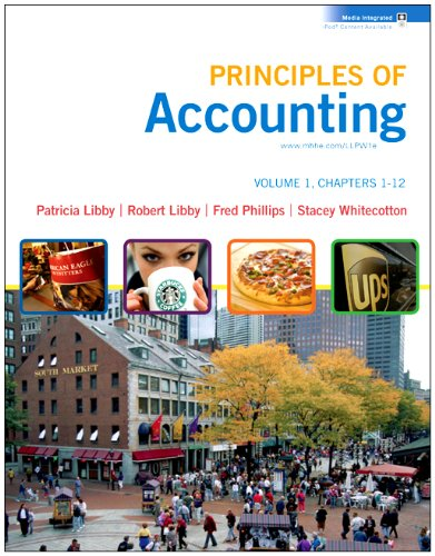 9780077370435: Loose-leaf Principles of Accounting Volume 1 Ch 1-12 with Annual Report