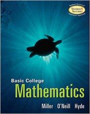 9780077374198: Basic College Mathematics (Broward College Edition)