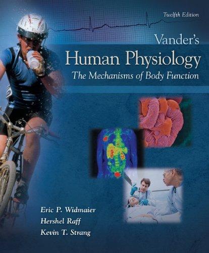 Connect Plus Human Physiology (1 sem) Access: Widmaier, Eric; Raff,