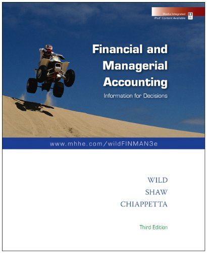 9780077374273: Loose-leaf Financial and Managerial Accounting with Best Buy Annual Report
