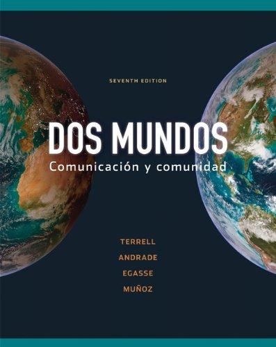 9780077377519: Dos Mundos: Communicacion y Comunidad