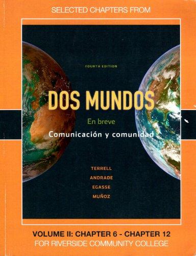 Dos Mundos: En Breve: Terrell, Andrade, Egasse, Munoz