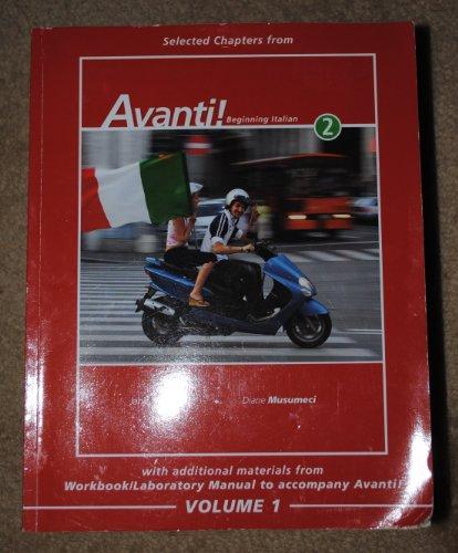 9780077381103: Avanti! Beginning Italian