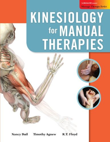 9780077382285: Kinesiology for Manual Therapies with Muscle Cards (Massage Therapy)