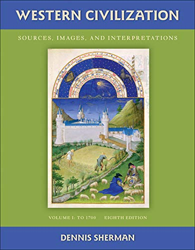 9780077382391: Western Civilization: Sources Images and Interpretations Volume 1 To 1700