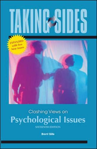 9780077382872: Taking Sides: Clashing Views on Psychological Issues, Expanded