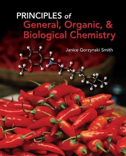 9780077385620: Student Study Guide/Solutions Manual for Principles of General, Organic & Biochemistry