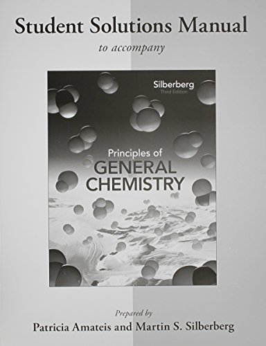 9780077386467: Student's Solutions Manual to accompany Principles of General Chemistry