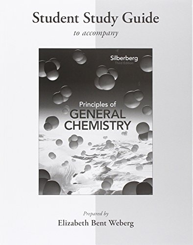 9780077386481: Student Study Guide for Principles of General Chemistry