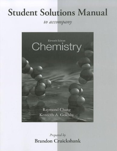 9780077386542: Student Solutions Manual for Chemistry