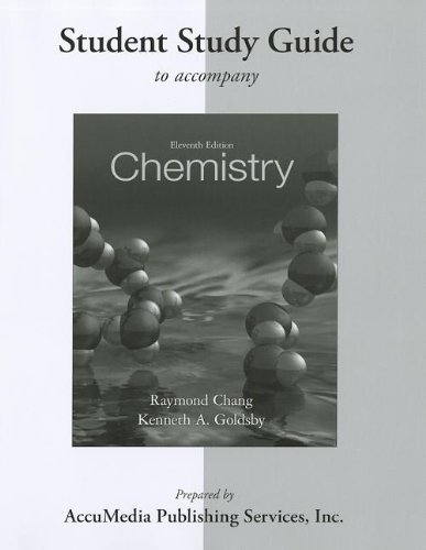 9780077386573: Student Study Guide for Chemistry