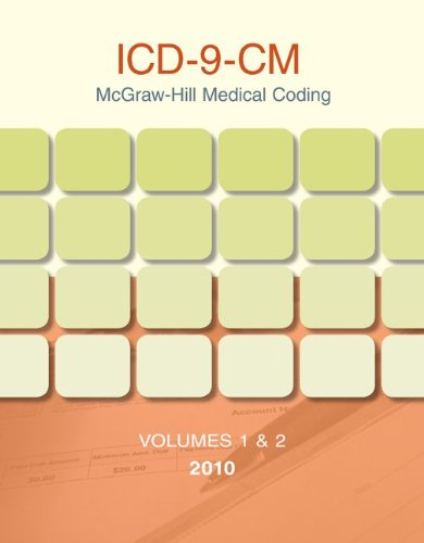 9780077387655: McGraw-Hill Medical Coding: ICD-9-CM 2010