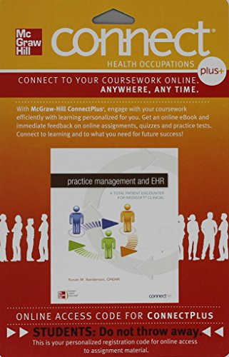 9780077390433: Connect Plus Allied Health 2-Semester Access Card for Practice Management & EHR