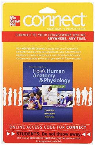 9780077390792: Connect with LearnSmart 2 Semester Access Card for Hole's Human Anatomy and Physiology