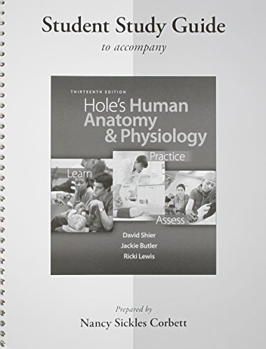 9780077390808: Student Study Guide Hole's Human Anatomy & Physiology