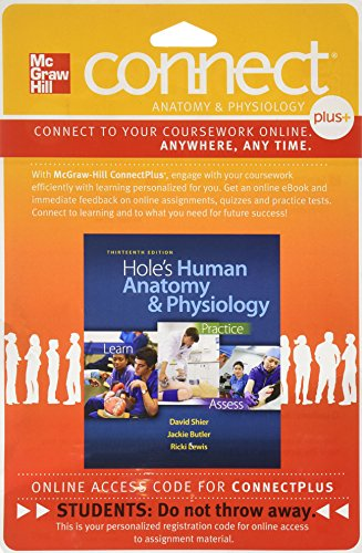 9780077390839: Connect Plus & LearnSmart 2 Semester Access Card for Hole's Human Anatomy and Physiology