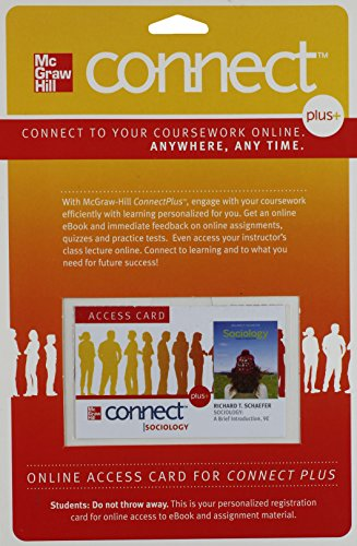 9780077394134: Connect Plus Sociology Access Card for Sociology: A Brief Introduction