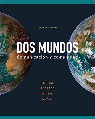 9780077394318: Dos Mundos: Comunicacion y Comunidad (Spanish Edition)