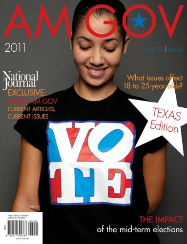 9780077394387: AM GOV 2011 Texas Edition