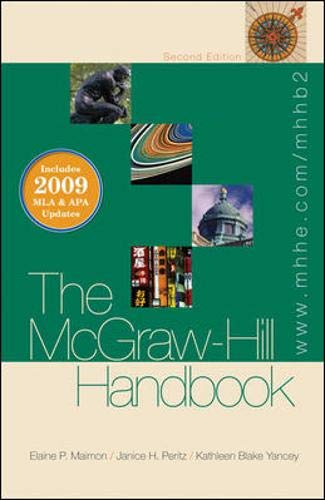 The McGraw-Hill Handbook (paperback) - 2009 MLA: Elaine Maimon, Janice