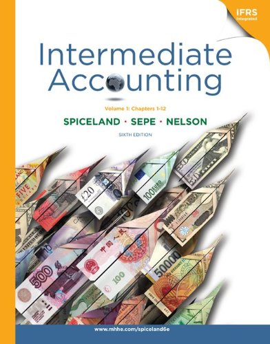 9780077395834: Intermediate Accounting Vol 1 (Ch 1-12) with British Airways Annual Report