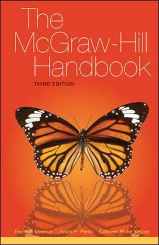 9780077397302: The McGraw-Hill Handbook (paperback)