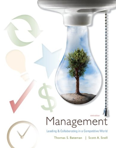 9780077398026: Management: Leading and Collaborating in the Competitive World with Connect Plus