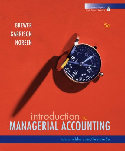 9780077398057: Introduction to Managerial Accounting with Connect Plus
